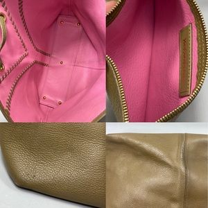 Yves Saint Laurent Bags - Auth YvesSaintLaurent Neo  Khaki Leather Tote Bag